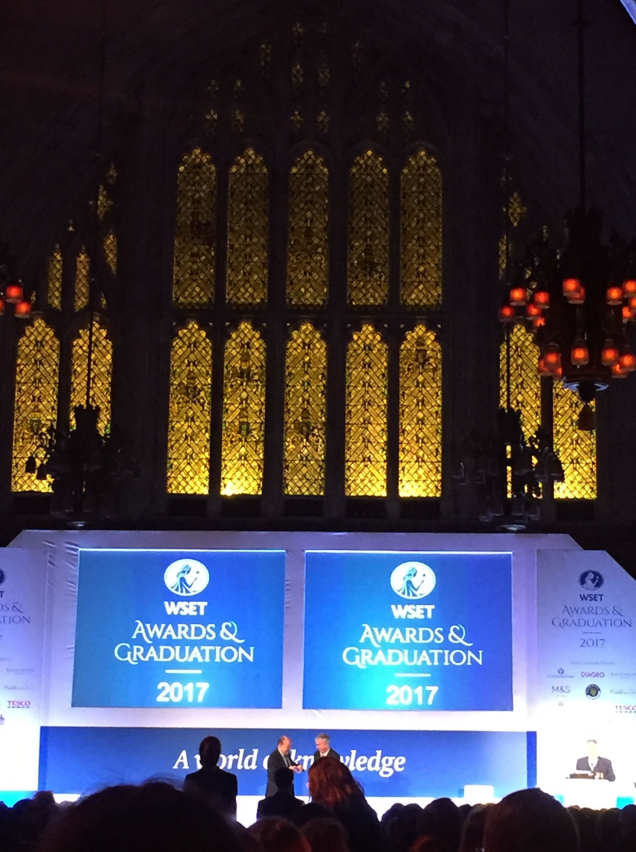 WSET AWARDS & GRADUATION 2017授賞式